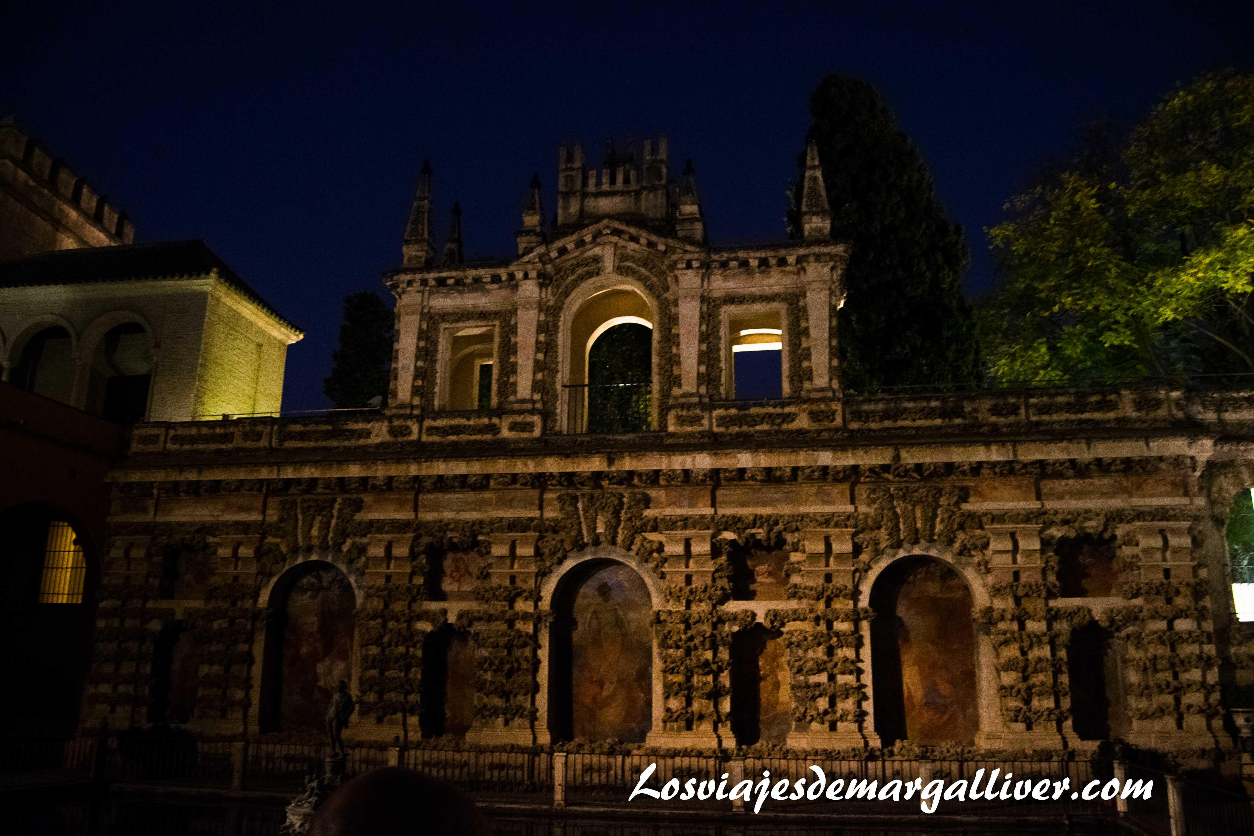 balcón de los jardines del alcazar de Sevilla en la ruta de Juego de Tronos - Los viajes de Margalliver
